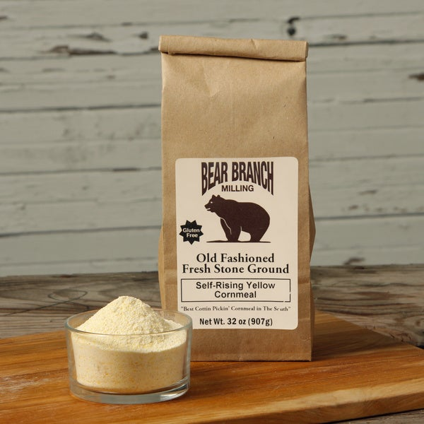 Old Fashioned Stone Ground Self Rising Yellow Cornmeal (Pack of 6)