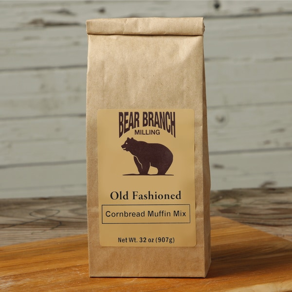 Old Fashioned Stone-ground Cornbread Muffin Mix (Pack of 6)