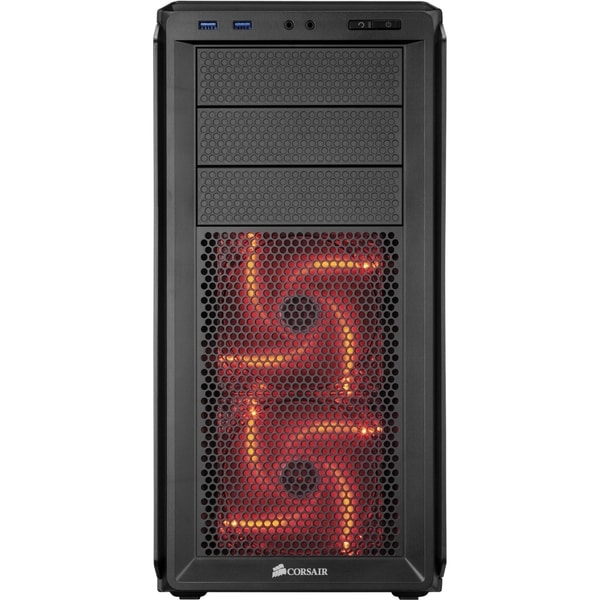 Corsair Graphite Series 230T Compact Mid Tower Case-Black