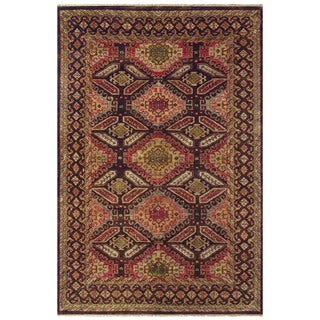 """Feizy Hand-knotted 100-percent Wool Pile Isabella Rug in Brown/Brown 9'-6"""" x 13'-6"""""""