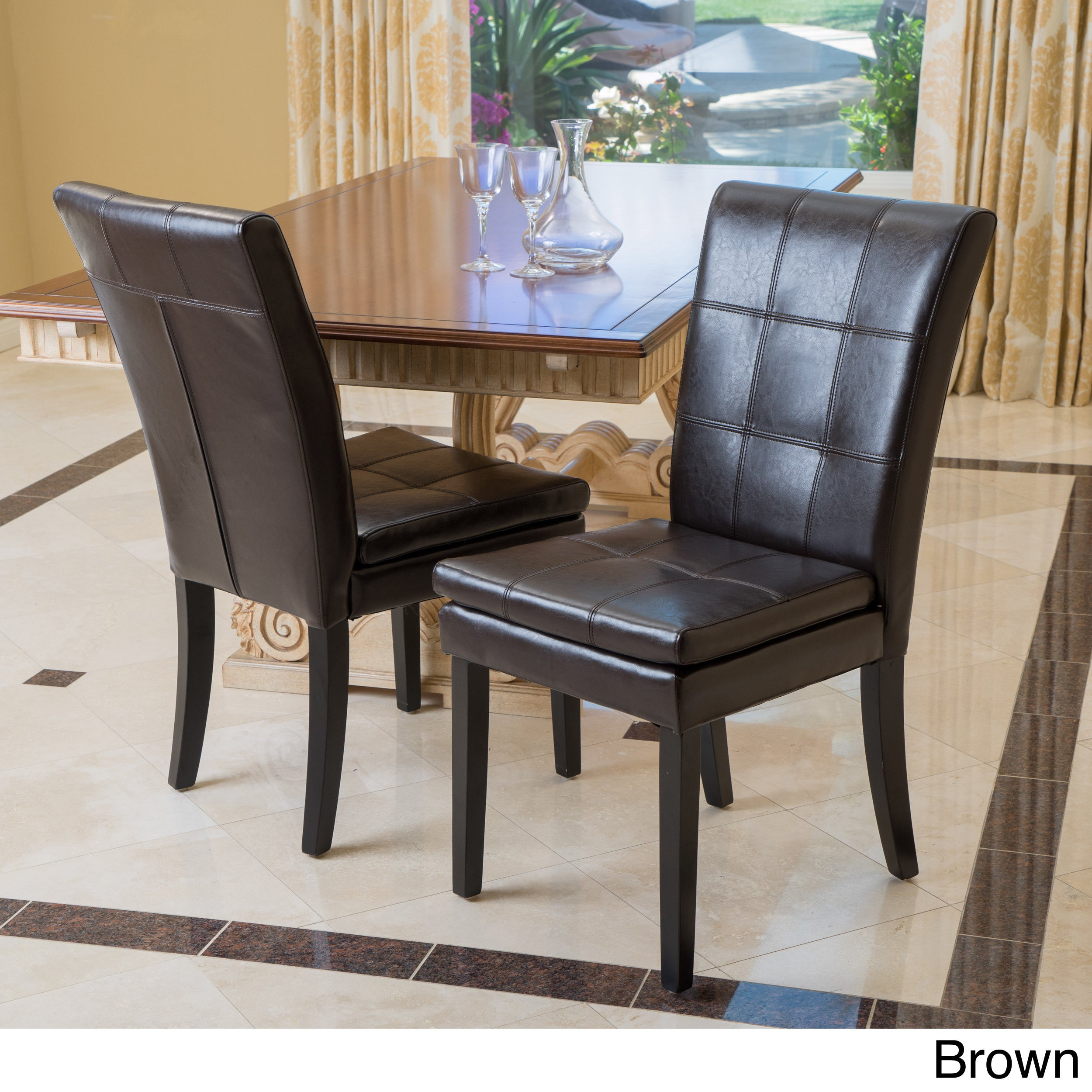Christopher Knight Home Gala Dining Chair Set of 2