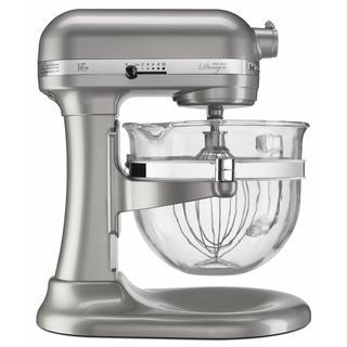 KitchenAid Sugar Pearl 6-quart Pro 600 Design Series Bowl-Lift Stand Mixer
