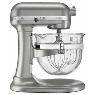 KitchenAid KF26M22SR Sugar Pearl 6-quart Pro 600 Design Series Bowl-Lift Stand Mixer