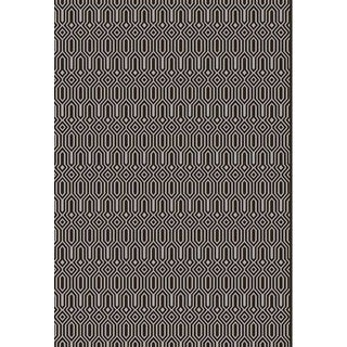 Luster Transitional Brown Rug (5'3 x 7'7)