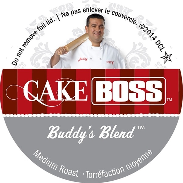 Cake Boss 'Buddy's Blend' Single Serve Coffee K-Cups 14200308