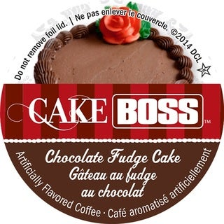 Cake Boss Chocolate Fudge Cake Single Serve Coffee K-Cups