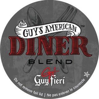 Guy Fieri American Diner Blend Single Serve Coffee K-Cups