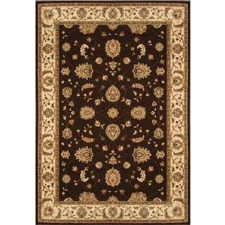 Champion Transitional Brown-Beige Rug (5'3 x 7'7)