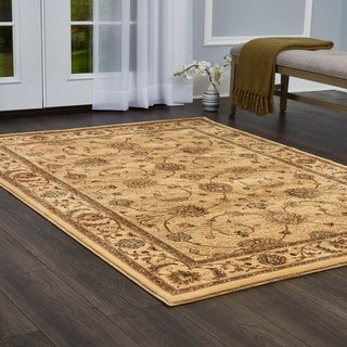 Champion Transitional Beige Rug (5'3 x 7'7)