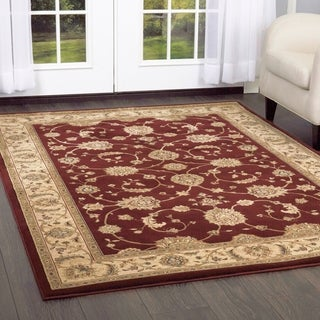 Champion Transitional Green Rug (5'3 x 7'7)