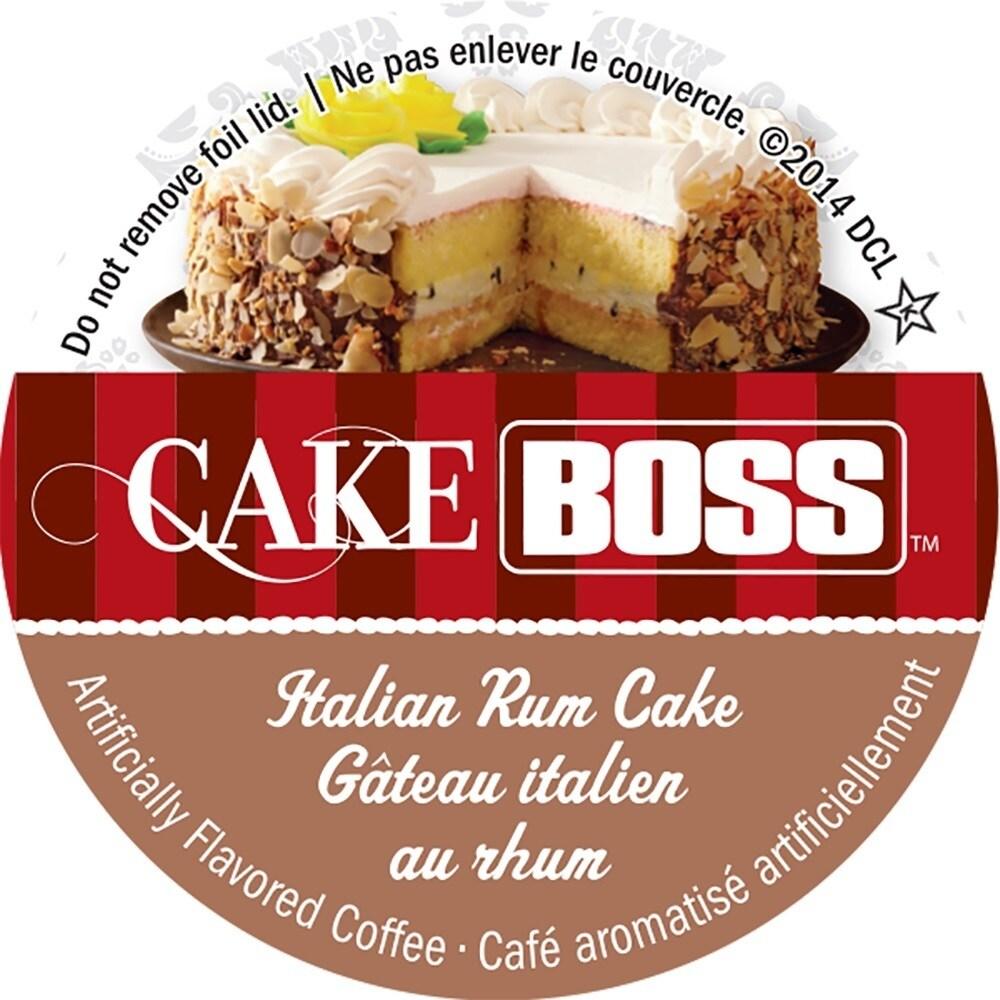 Rum Cake Italian Order Online