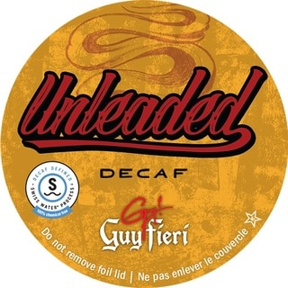 Guy Fieri Unleaded Decaf Single Serve Coffee K-Cups