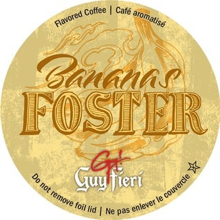 Guy Fieri Bananas Foster Single Serve Coffee K-Cups