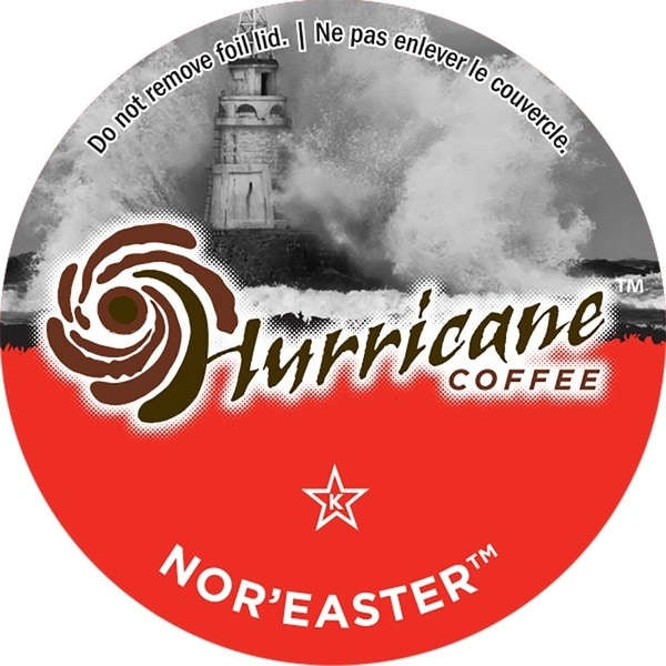 Hurricane Coffee Nor' Easter Single Serve Coffee K-Cups
