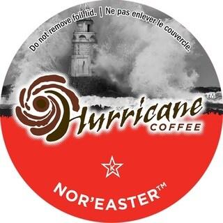 Hurricane Coffee Nor' Easter Single Serve Coffee K-Cups