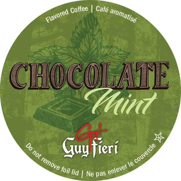 Guy Fieri Chocolate Mint Single Serve Coffee K-Cups
