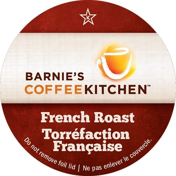 Barnies Coffee Kitchen French Roast Serve Coffee K-Cups