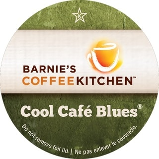 Barnies Coffee Kitchen Cool Cafe Blues Single Serve Coffee K-Cups