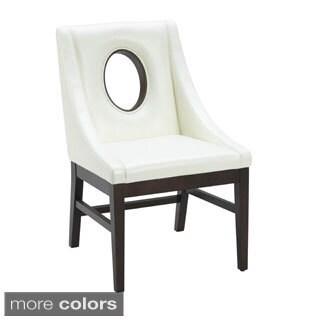 Sunpan Studio Modern Oval Key-hole Dining Chair
