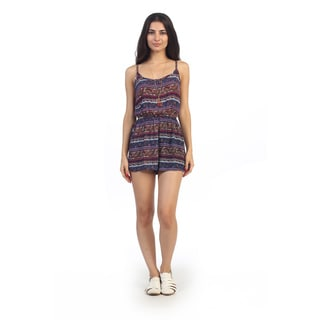 Hadari Junior's Paisley Print Sleeveless Romper