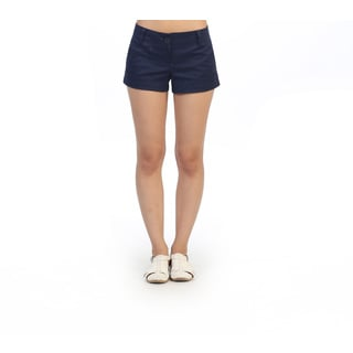Hadari Junior's Navy Casual Dress Shorts