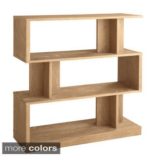 Sunpan Morrissey 3-tier Modern Wood Bookshelf