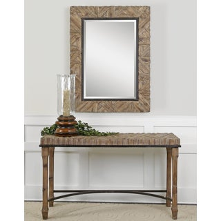Tehama Weathered Wood Console