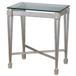 Vijai Silver End Table