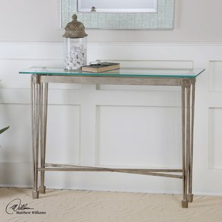 Vijai Silver Console Table