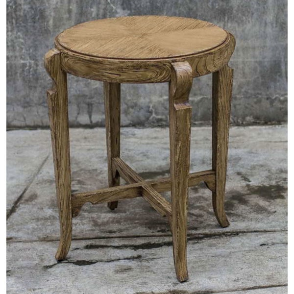 Uttermost Bandi Camel Accent Table