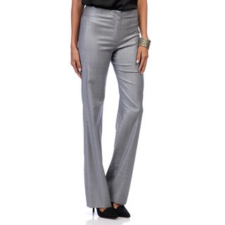 Escada Women's Tanja Navy Woven Dress Pants