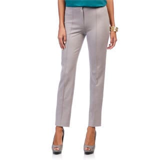 Escada Women's Thabea Woven Grey Dress Pants
