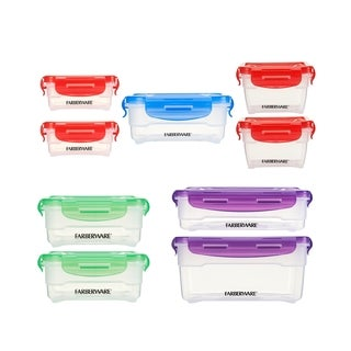 Microban 18-piece Polypropylene Food Storage Set
