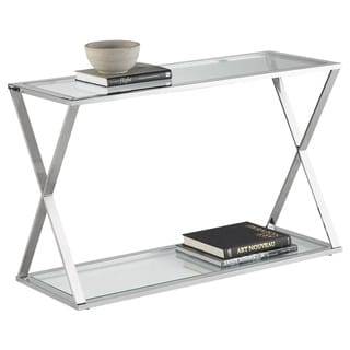 Sunpan 'Ikon' Gotham Stainless Steel Console Table