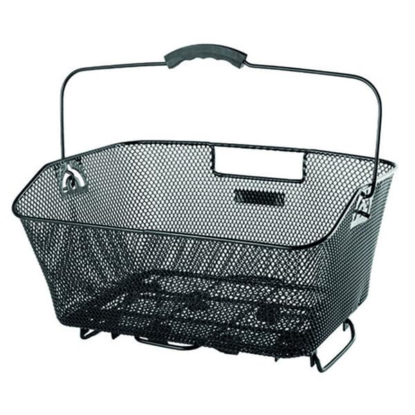 Ventura Wire Mesh Bicycle Basket with Clamp Attachment 13391705