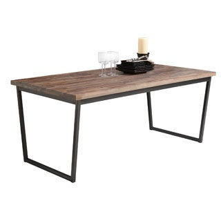 Sunpan Porto Walnut Dining Table