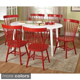 Simple Living 7-piece Naples Oval Dining Set