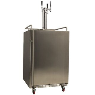 EdgeStar Full-size Triple Tap Built-in Kegerator