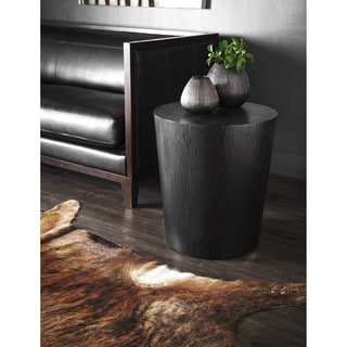 Sunpan Montague Oak End Table
