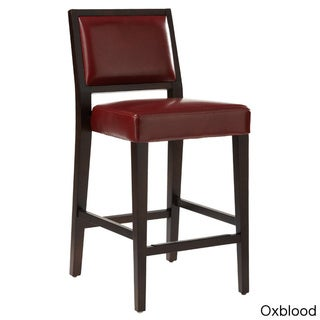 Sunpan Citizen Bonded Leather Counter Stool