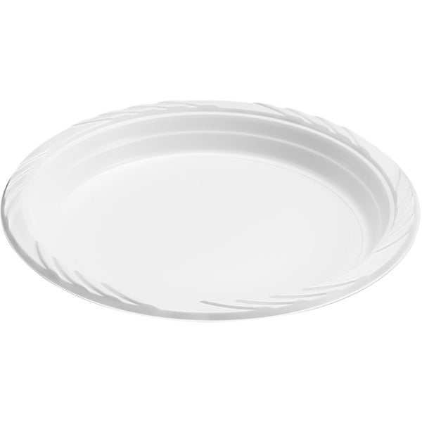 Elite Settings 9-inch White Disposable Plastic Plates (400 Count)
