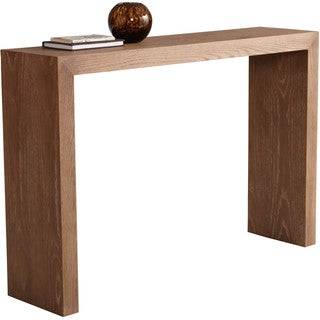 Sunpan Arch Contemporary Wood Console Table