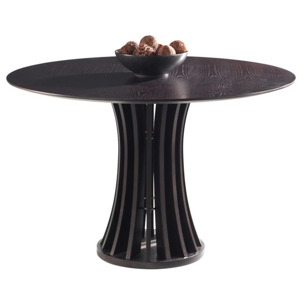 Sunpan Aziz Round Espresso Dining Table Overstock Shopping Great