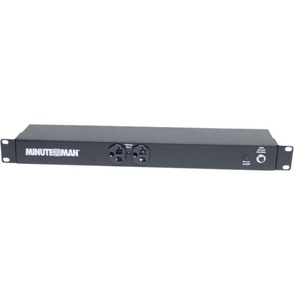 Minuteman 10-port, 110V/16A, 1U/0U Mount, Locking