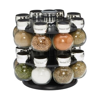 Kamenstein Ellington 16-jar Spice Rack