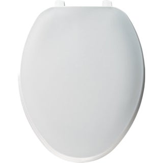 Bemis 1547XC-000 Elongated Closed Front Plastic Toilet Seat With Cover