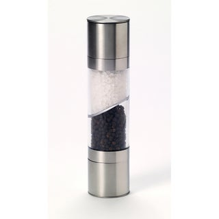 Kamenstein Stainless Steel Dual Salt and Pepper Grinder