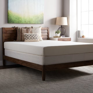 SL Loft Medium Firm 8-inch Queen-sized Memory Foam Mattress with EZ Fit Foundation