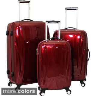 Chariot Belluno 3-piece Hardside Lightweight Upright Spinner Luggage Set