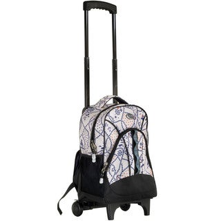 CalPak 'Grand Stand' Atlas Print Rolling 17-inch Laptop Backpack